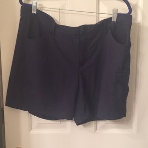 Blue quick dry shorts